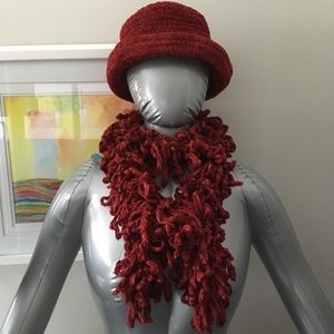 NWOT! Charter Club Hat and Fun Scarf Set